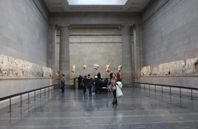Parthenon Marbles in British museum