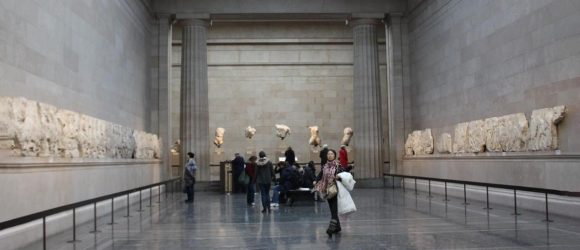 Parthenon Marbles in British museum