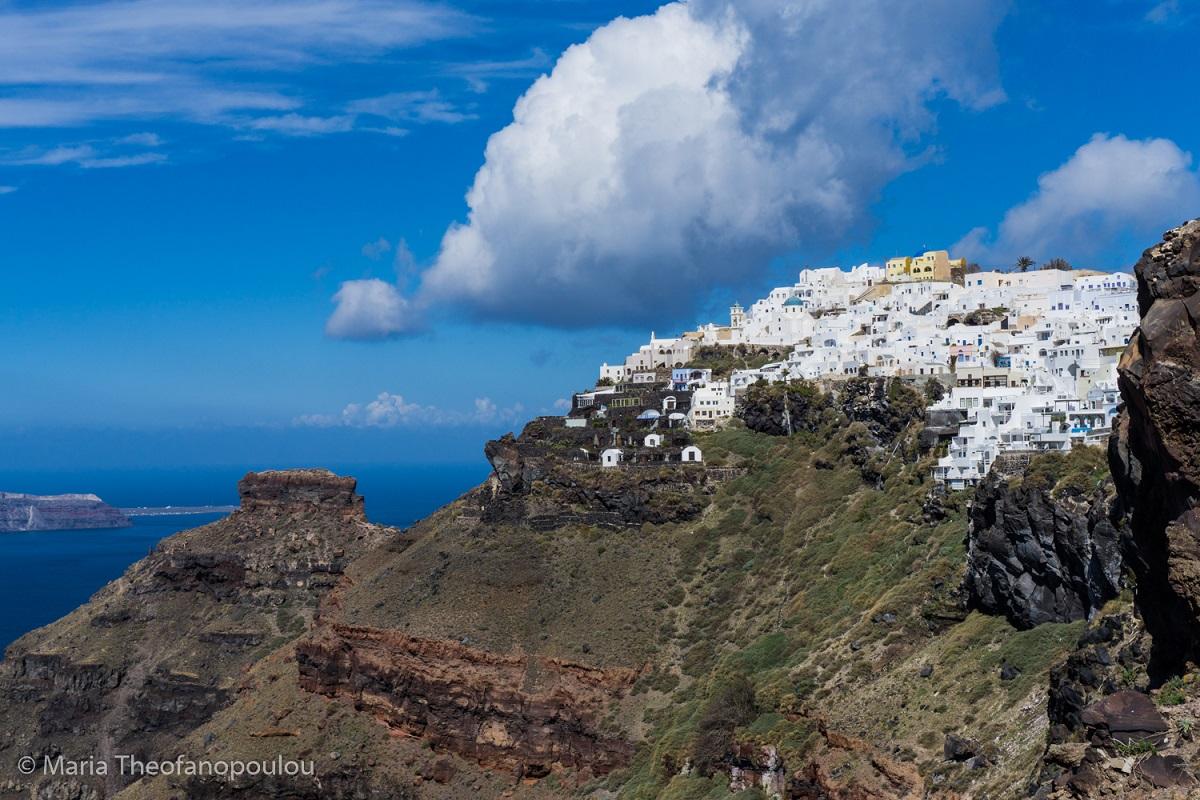 Santorini Island Ⓒ Maria Theofanopoulou