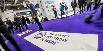 World Travel Market 2016, ExCeL London. Travel Tech Show Floor