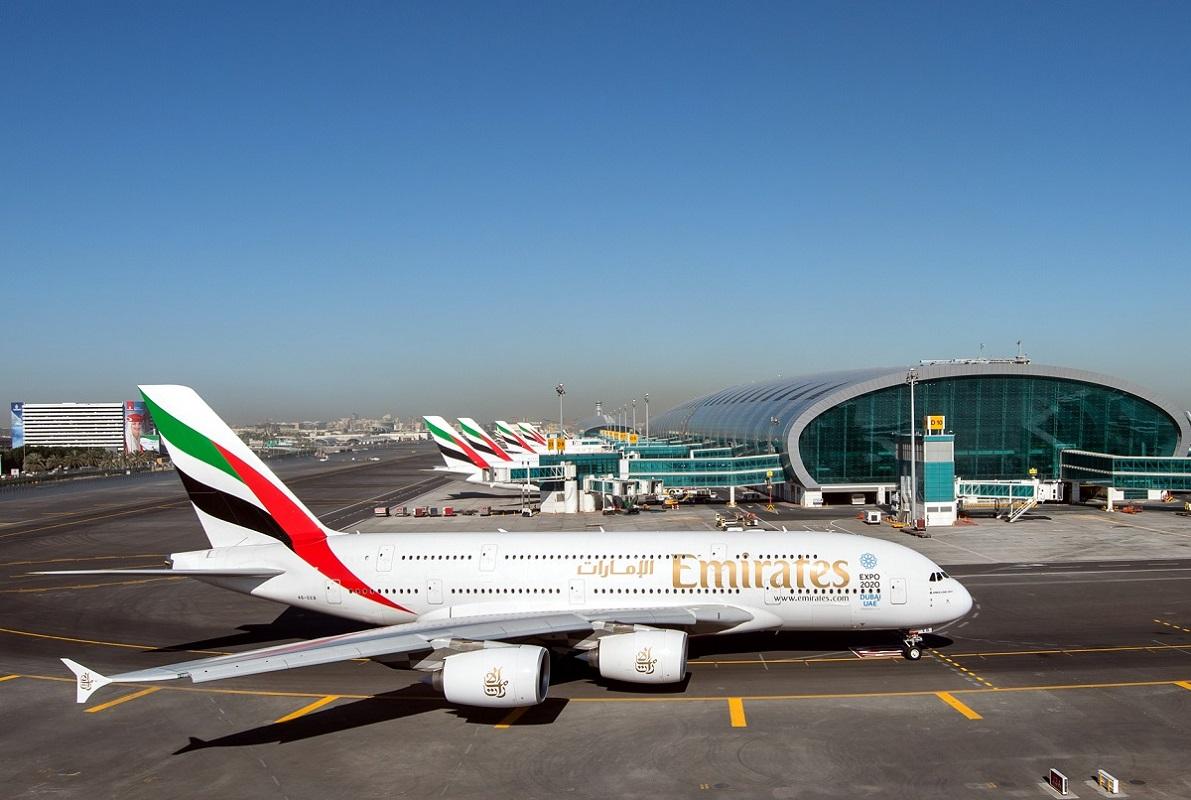 Emirates' Airbus A380 aircraft.