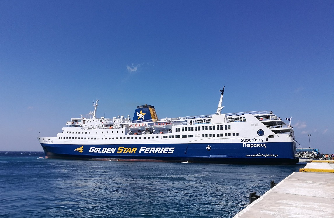 Golden Star Ferries Aiming to Keep Rafina-Syros Route All Year Round ...