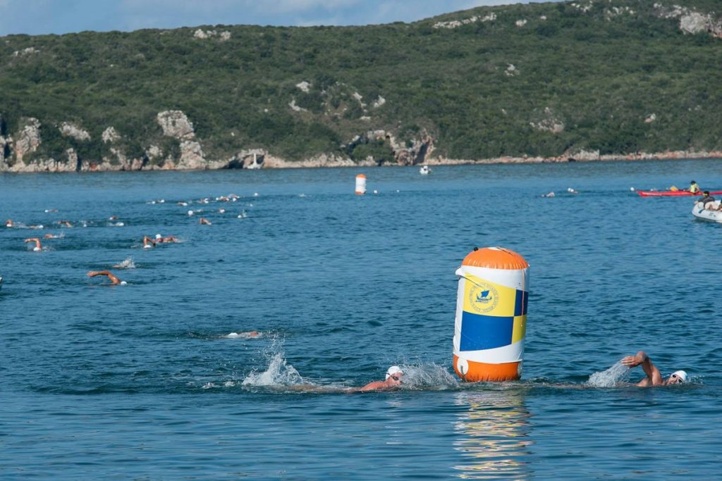 Swimming @ Navarino Challenge photo by Vangelis Patsialos