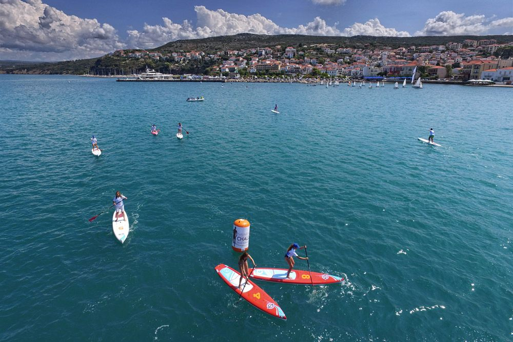 SUP @ Navarino Challenge / photo by Loukas Hapsis
