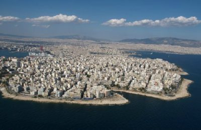 The coastal area of Peiraiki in Piraeus, Photo Source: Municipality of Piraeus