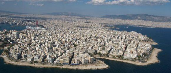 The coastal area of Peiraiki in Piraeus, Photo Source: Municipality of Piraeus