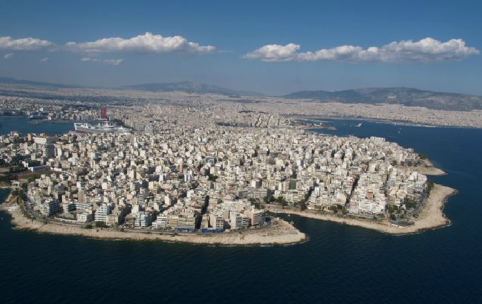 The coastal area of Piraiki in Piraeus, Photo Source: Municipality of Piraeus