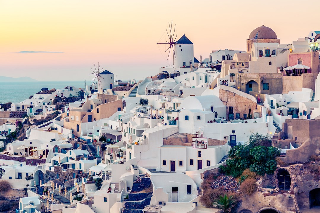 Santorini, Photo Source: Condé Nast Traveller