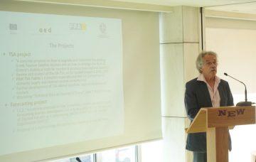 Austrian statistician expert Peter Hackl, Vienna University of Economics and Business.