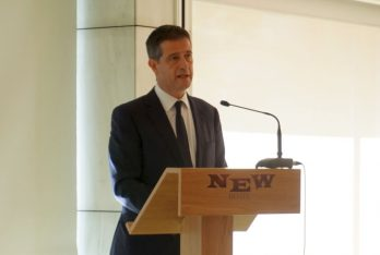 Secretary General for Tourism Policy and Development Georgios Tziallas.