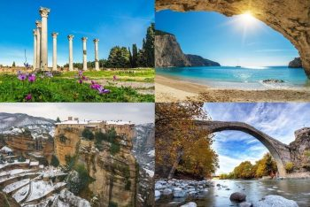 "The GNTO is letting the world know that Greece is ""open"" to visitors all 365 days of the year."