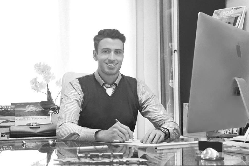 O πρόεδρος του Συλλόγου Αρχιτεκτόνων Δωδεκανήσου Γιώργος Σκιαδόπουλος.