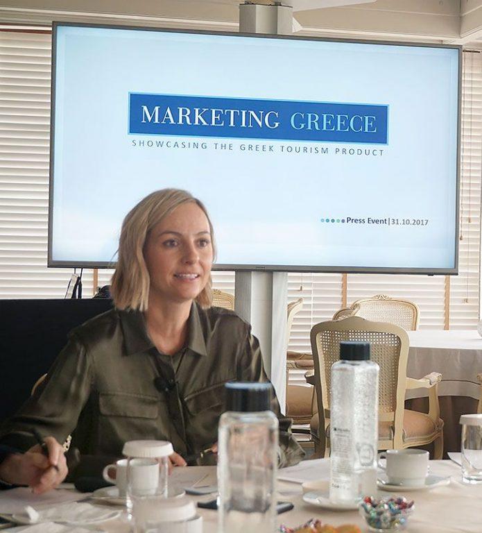 Marketing Greece CEO Ioanna Dretta.