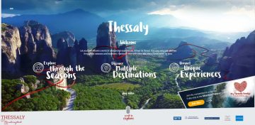 Tourism campaign for Thessaly by Marketing Greece.