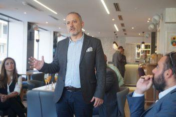 Nelios' CEO, Dimitris Serifis