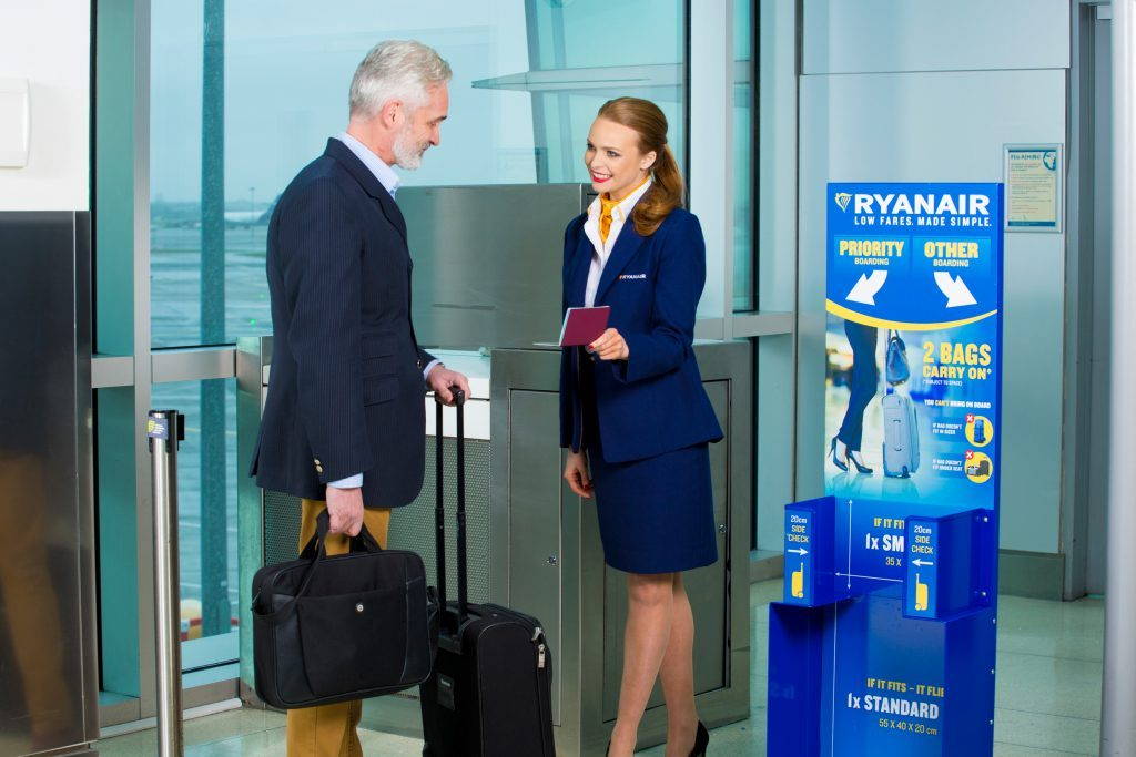 Ryanair Delays New Cabin Bag Policy Until January 2018