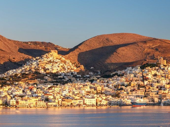 Syros Island. Photo Source: http://likenoother.aegeanislands.gr