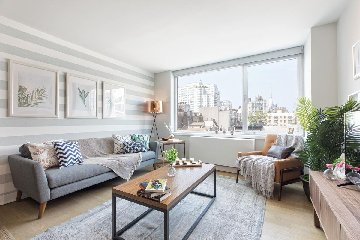 Apartment in East Village, New York.