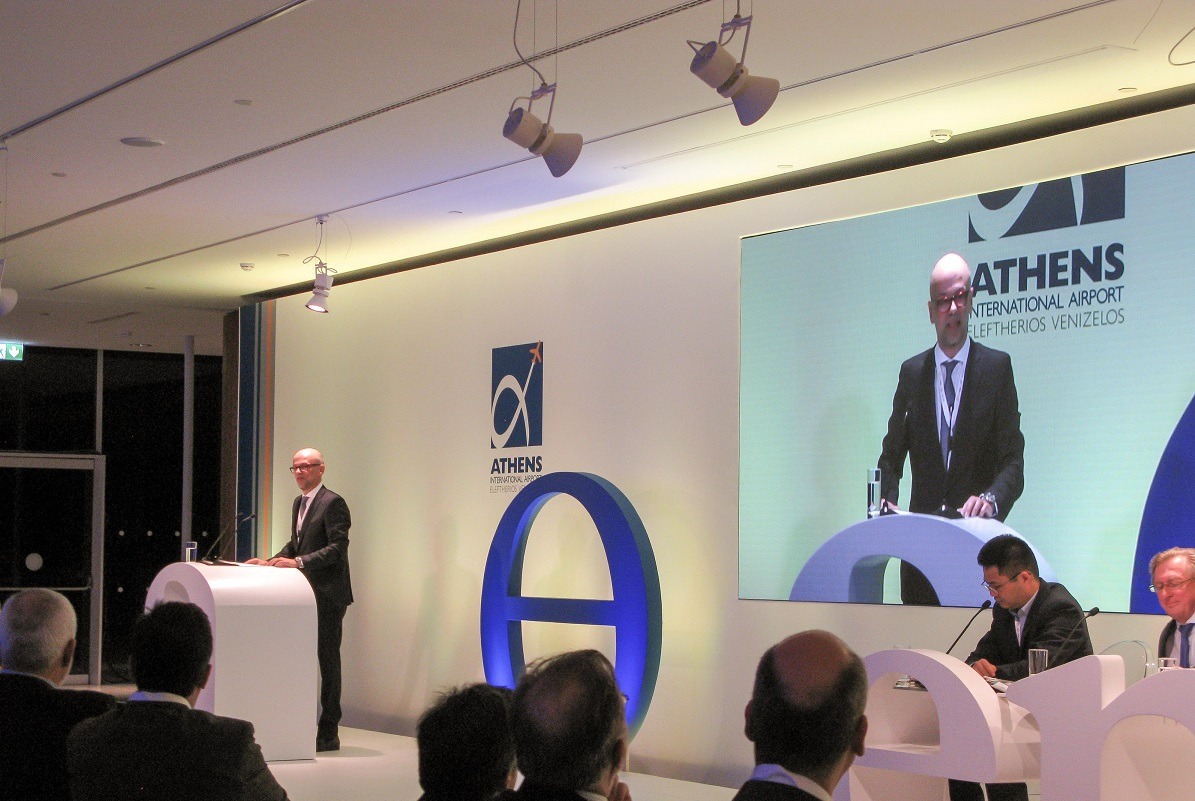 Greek Tourism Confederation (SETE) Yiannis Retsos spoke at the 5th Airport Chief Executives' Symposium (ACES).