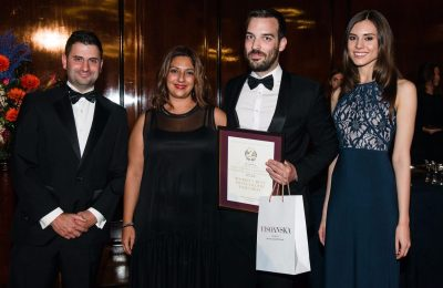 Sofia Matzourani, Business Development Manager of Aqua Vista Hotels and Sotiris Kopatsaris, Managing Director and Owner of Carpe Diem.