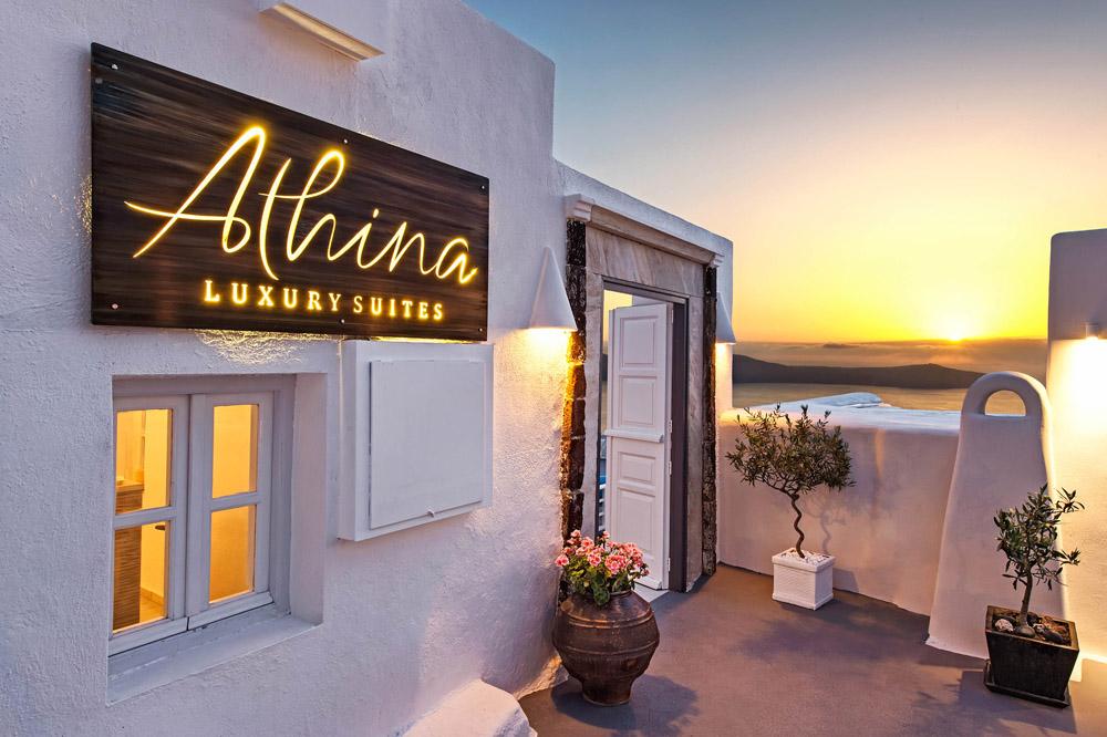 Santorini 39 S Athina Luxury Suites Receives Two