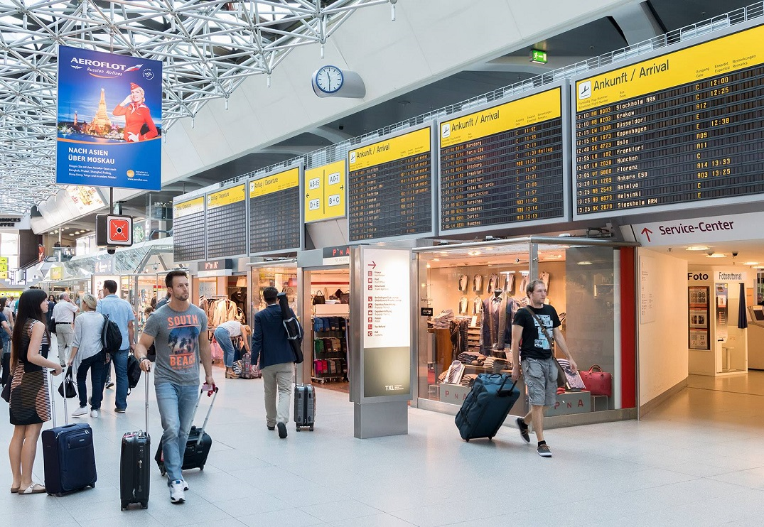 Berlin Airport. Photo Source: @Berlin Airport - SXF & TXL