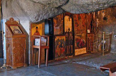 Cave of the Apocalypse, Patmos Island. Photo Source: Municipality of Patmos