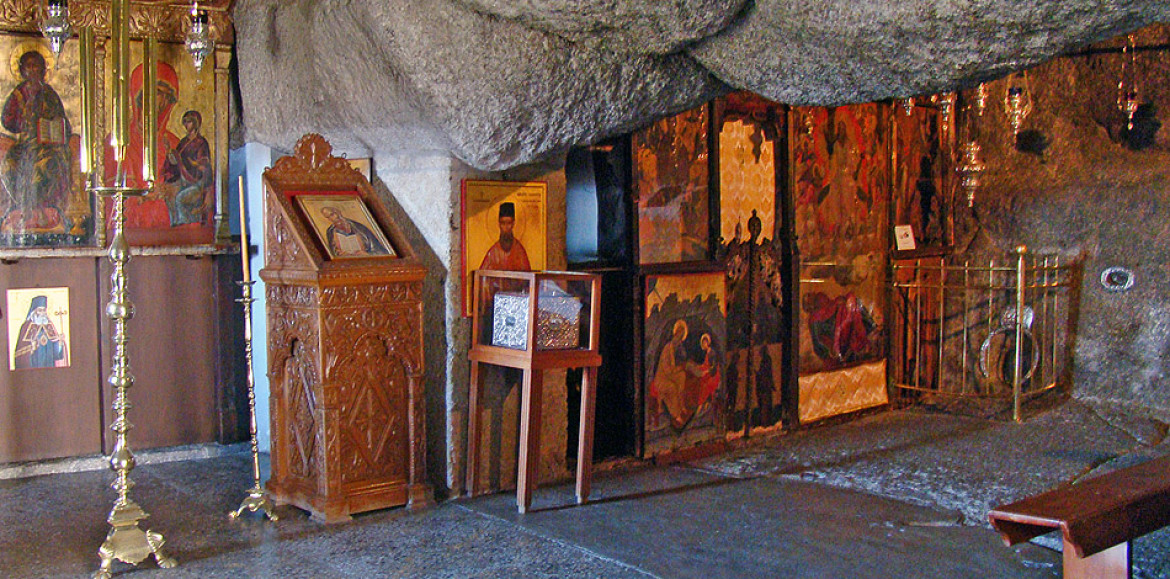 Cave of the Apocalypse, Patmos Island. Photo Source: Municipality of Patmos