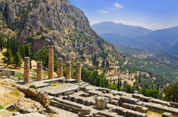 Archaeological site of Delphi. Photo Source: Delphi Hoteliers Association.