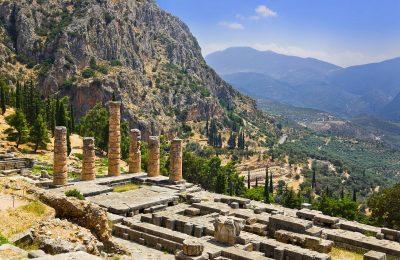 Archaeological site of Delphi. Photo Source: Delphi Hoteliers Association.
