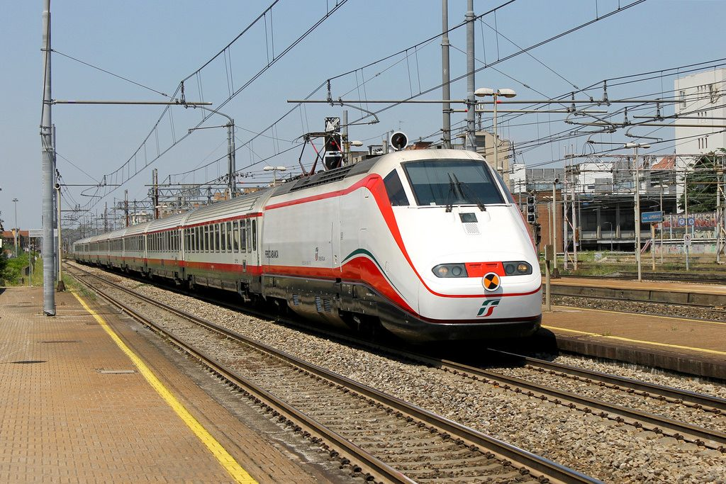 The Frecciabianca.
