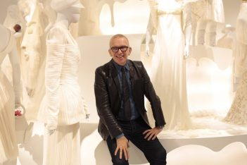Fashion designer Jean Paul Gaultier. Photo Source: @Jean Paul Gaultier.