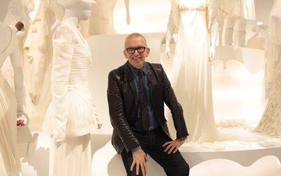 Fashion designer Jean Paul Gaultier. Photo Source: @Jean Paul Gaultier.