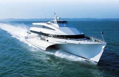 Golden Star Ferries the passenger-only high-speed trimaran KRILO ECLIPSE in October.