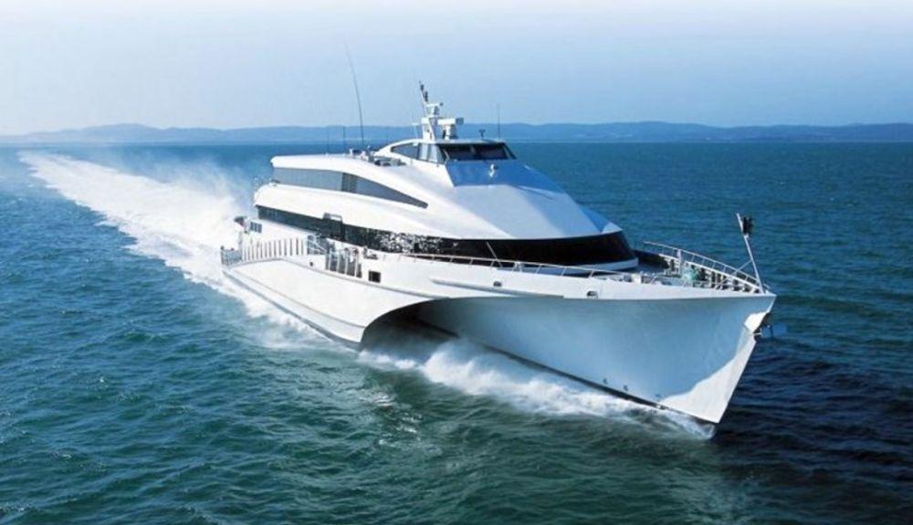 Golden Star Ferries the passenger-only high-speed trimaran KRILO ECLIPSE in October.