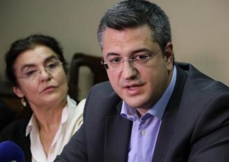 Culture Minister Lydia Koniordou and Central Macedonia Governor Apostolos Tzitzikostas.
