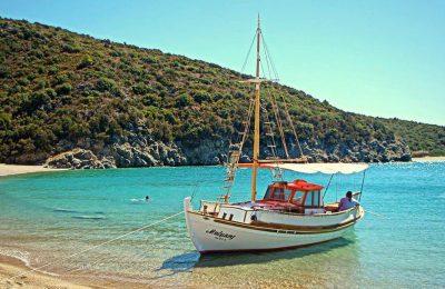Finikounda, Messini in the Peloponnese. Photo Source: @Mythical Peloponnese
