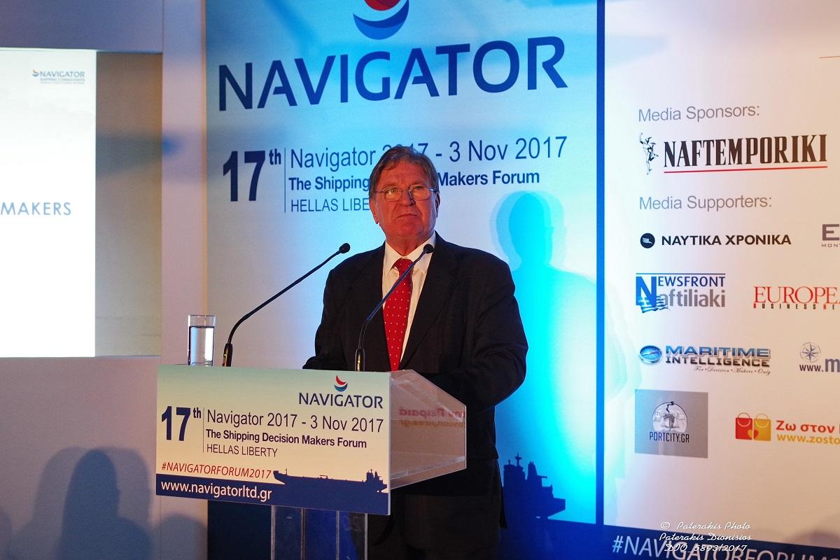Dimitris Bezantakos, President, Navigator Shipping Consultants.