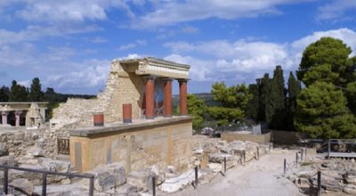Ancient Palace of Knossos, Crete. Photo Source: Municipality of Heraklio