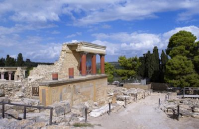 Ancient Palace of Knossos, Crete. Photo Source: Municipality of Heraklio