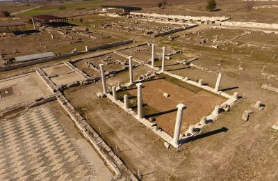 Archaeological site of Pella. Photo Source: Archaeological Museum of Pella