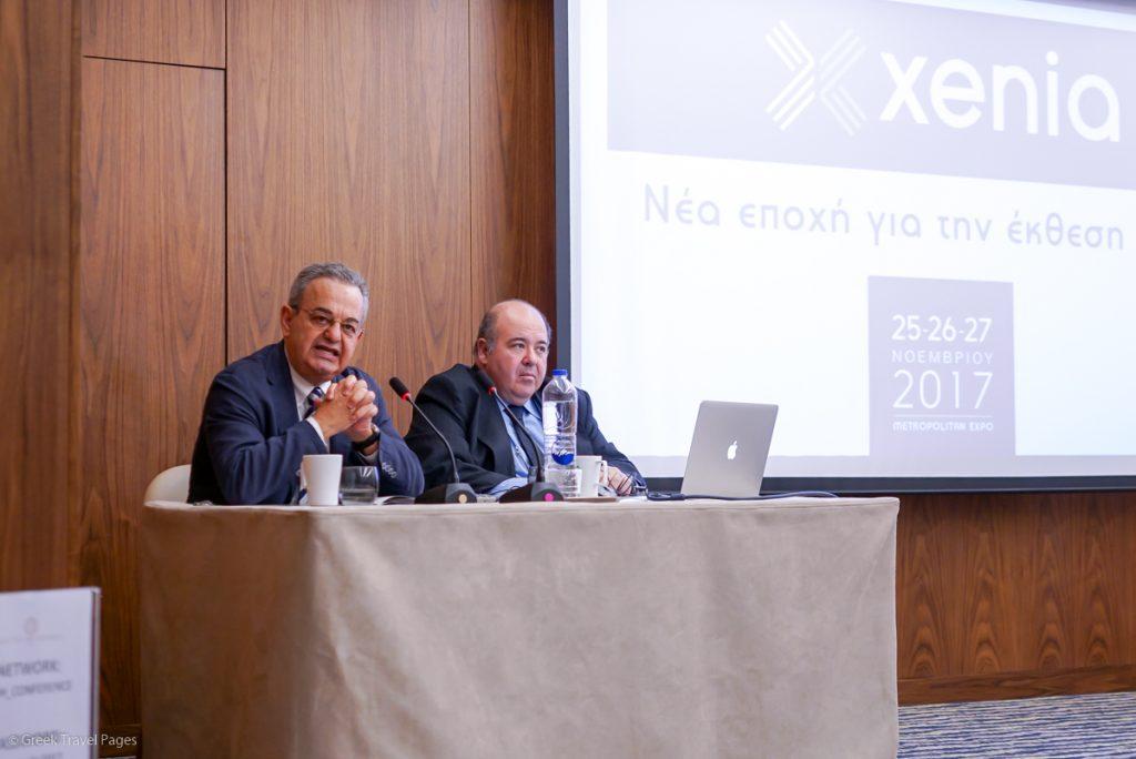 Forum SA President and CEO Nikos Choudalakis and Vice President Thanassis Gialouris.