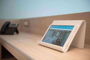 "Photo from Kubic Athens Hotel, Greece's first ""smart"" hotel."