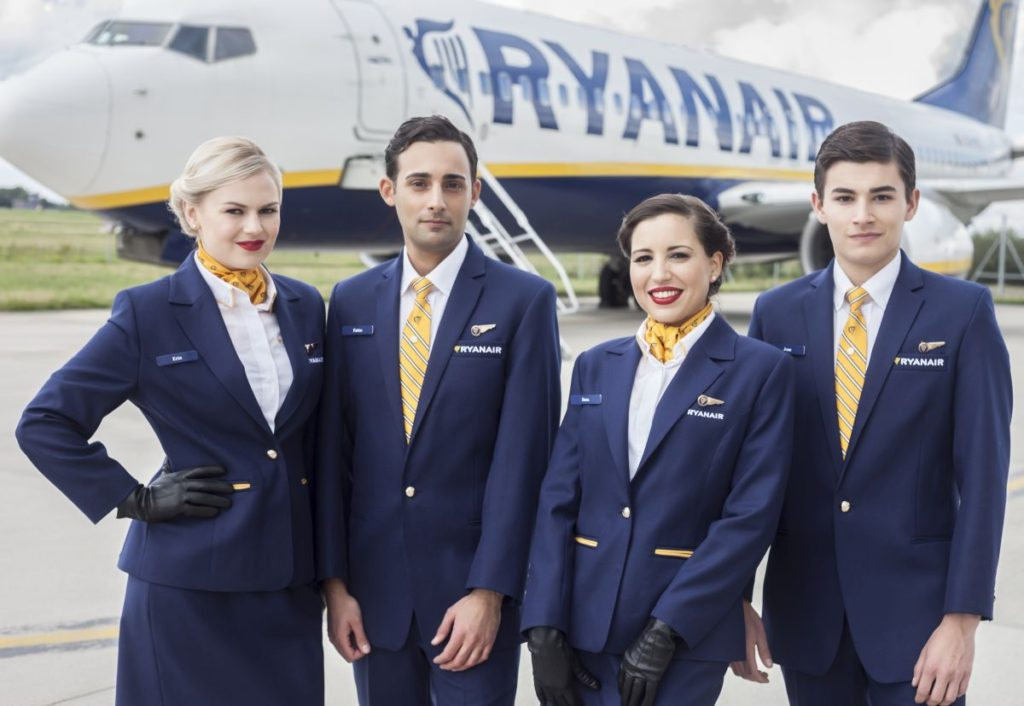 Ryanair recruiter crewlink to host open days in greece for for Cabin crew recruitment agency philippines