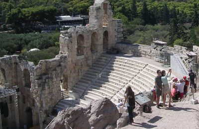 Herod Atticus Odeon, Athens © GTP