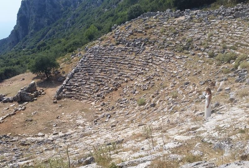 The ancient theater of Kassopi. Photo Source: @Diazoma