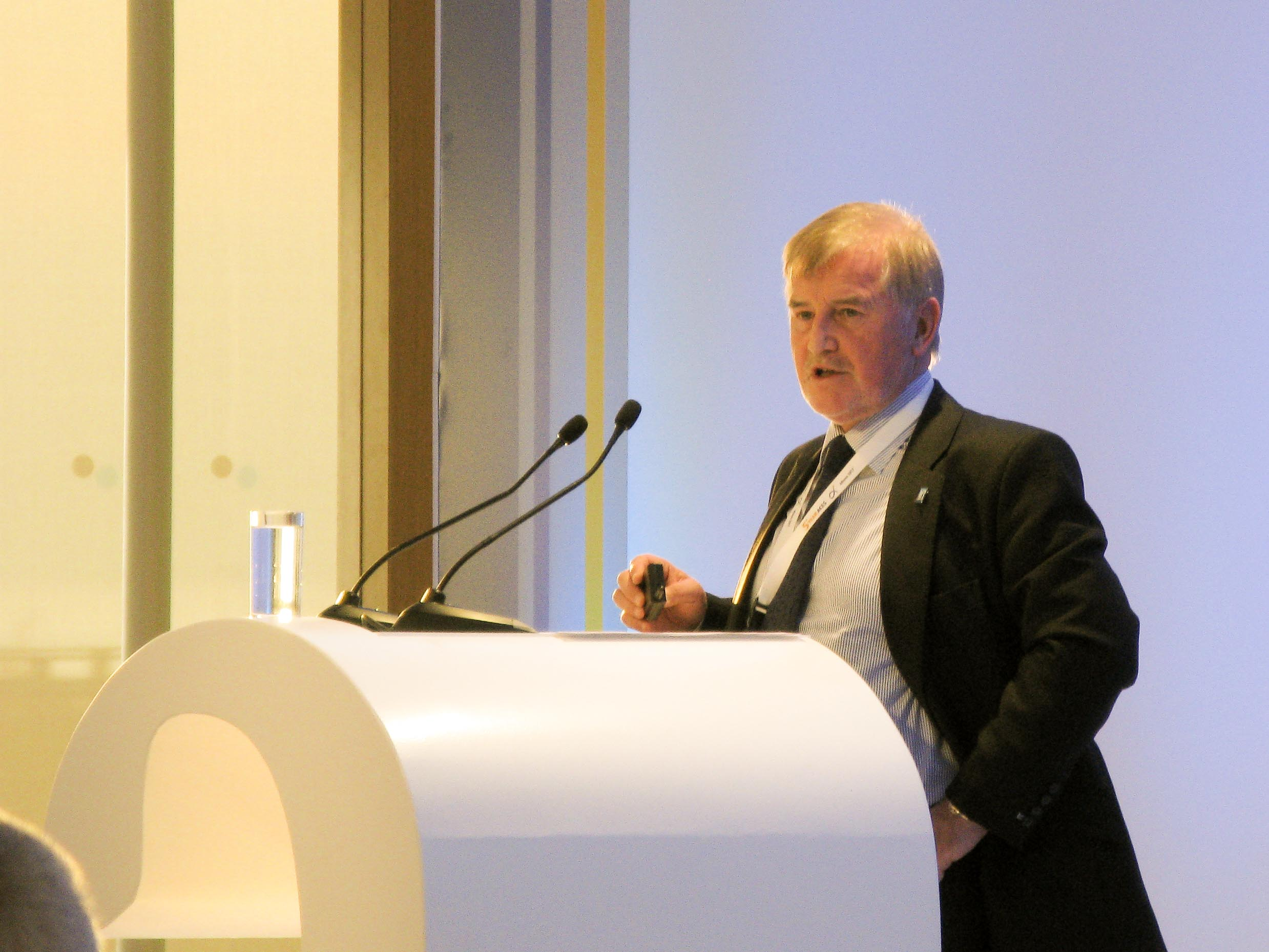 Declan Collier, former CEO of the London City Airport and immediate past-chair of ACI World. © GTP