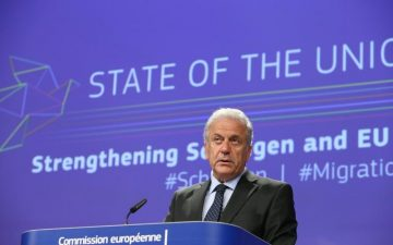 European Commissioner for Migration, Citizenship and Home Affairs Dimitris Avramopoulos.