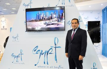 Egyptair Regional Director for Greece and Cyprus Salah Tawfic.