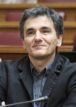 Finance Minister Euclid Tsakalotos.